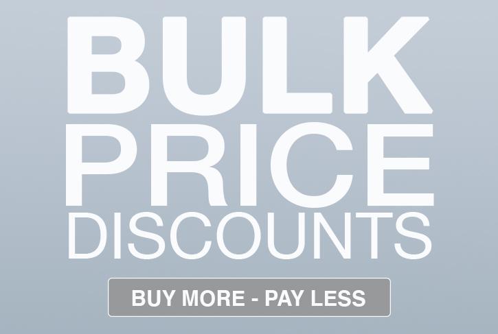 Discounts on bulk orders